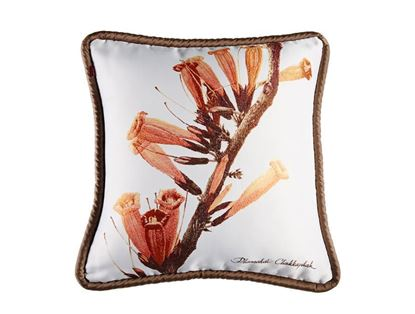 Picture of CUSHION COVER-FRUIT&FLOWER RADERMACHERA IGNEA Size(18 x 18in.)