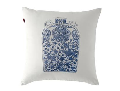 Picture of CUSHION COVER -POTTERY THOROUGH  Size  (18 x 18 in.)