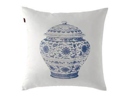 Picture of CUSHION COVER -POTTERY GRANDIOSE Size  (18 x 18 in.)