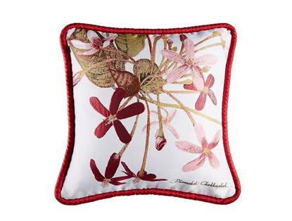 Picture of CUSHION COVER-FRUIT&FLOWER Chinese Honey Suckle Size(18 x 18in.)