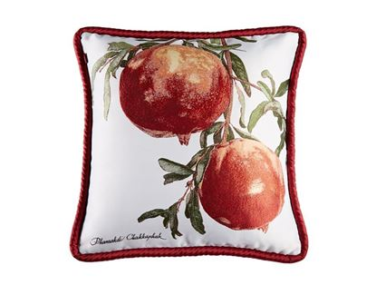 Picture of CUSHION COVER-FRUIT&FLOWER POMEGRANATE Size(18 x 18in.)