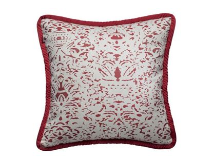 Picture of CUSHION COVER -ROMANO CRANBERRY  Size (18 x 18 in.)