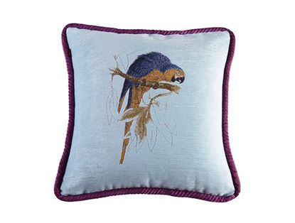 Picture of CUSHION COVER-LOVE BIRDS  CAPRI Size (18 x1 8in.)