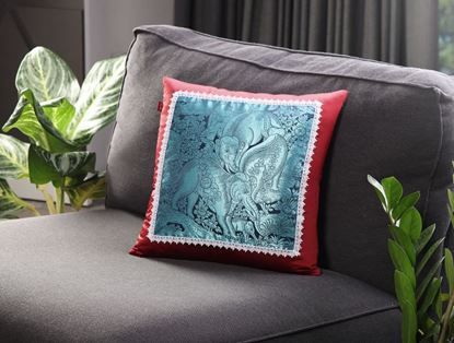 Picture of CUSHION COVER- BARAMEE (KODCHASAN) Size (18 x1 8in.)