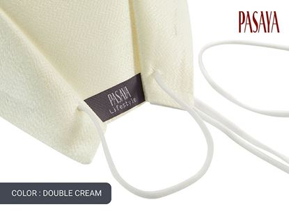 Picture of PASAYA Fabric Mask หน้ากากผ้าไหม (02 DOUBLE CREAM)