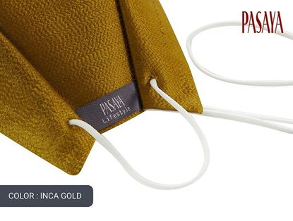 Picture of PASAYA Fabric Mask หน้ากากผ้าไหม (05 INCA GOLD)