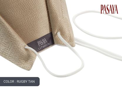 Picture of PASAYA Fabric Mask หน้ากากผ้าไหม (13 RUGBY TAN)