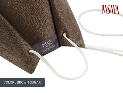 Picture of PASAYA Fabric Mask หน้ากากผ้าไหม (19 BROWN SUGAR)