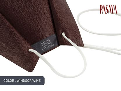 Picture of PASAYA Fabric Mask หน้ากากผ้าไหม (20 WINDSOR WINE)