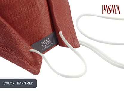 Picture of PASAYA Fabric Mask หน้ากากผ้าไหม (30 BARN RED)