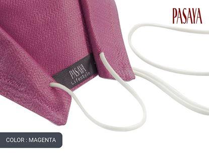 Picture of PASAYA Fabric Mask หน้ากากผ้าไหม (31 MAGENTA)