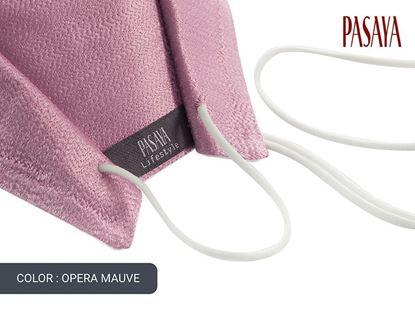 Picture of PASAYA Fabric Mask หน้ากากผ้าไหม (33 OPERA MAUVE)