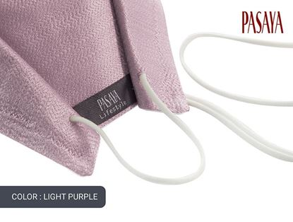 Picture of PASAYA Fabric Mask หน้ากากผ้าไหม (36 LIGHT PURPLE)