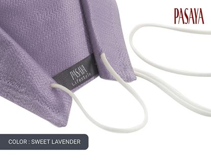 Picture of PASAYA Fabric Mask หน้ากากผ้าไหม (38 SWEET LAVENDER)