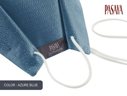 Picture of PASAYA Fabric Mask หน้ากากผ้าไหม (45 AZURE BLUE)