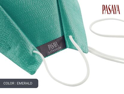 Picture of PASAYA Fabric Mask หน้ากากผ้าไหม (49 EMERALD)
