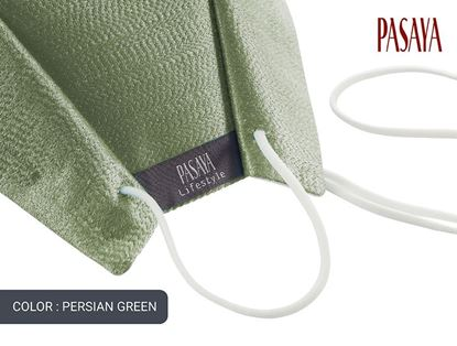 Picture of PASAYA Fabric Mask หน้ากากผ้าไหม (53 PERSIAN GREEN)