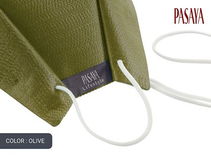 Picture of PASAYA Fabric Mask หน้ากากผ้าไหม (57 OLIVE)