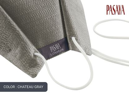 Picture of PASAYA Fabric Mask หน้ากากผ้าไหม (65 CHATEAU GRAY)