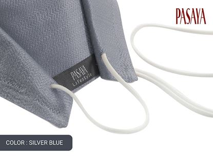 Picture of PASAYA Fabric Mask หน้ากากผ้าไหม (66 SILVER BLUE)