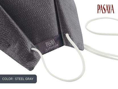 Picture of PASAYA Fabric Mask หน้ากากผ้าไหม (68 STEEL GRAY)