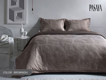 Picture of ILLUSION 480 - DUVET COVER 3.5' (BROWNISH)
