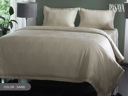 Picture of TIARA  460 - DUVET COVER 3.5' (SAND)